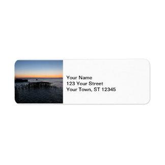 Astoria Sunset Label