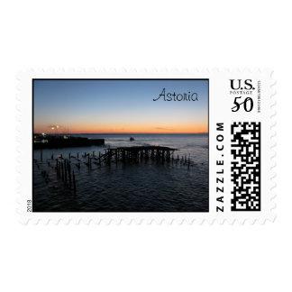 Astoria Sunset Postage