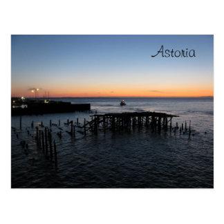 Astoria Sunset Postcard