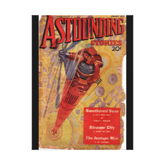 Astounding Science Fiction_ January 1936_Pulp Art Canvas Print