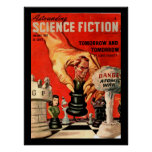 Astounding Science Fiction_ January 1947_Pulp Art Poster