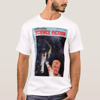 Astounding Science Fiction_ January 1953_Pulp Art T-Shirt