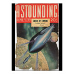 Astounding Science Fiction_ March 1941_Pulp Art Poster