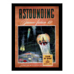 Astounding Science Fiction_ March 1943_Pulp Art Poster