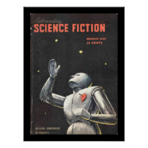 Astounding Science Fiction_ March 1949_Pulp Art Poster
