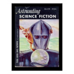 Astounding Science Fiction_ March 1953_Pulp Art Poster