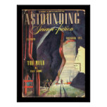 Astounding Science Fiction_ November 1945_Pulp Art Poster