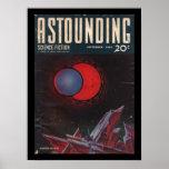 Astounding Science-Fiction, September, 1940_Pulp Poster