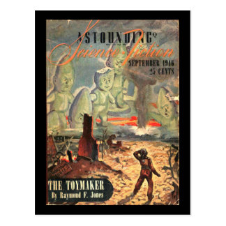 Astounding Science Fiction_ September 1946_Pulp Ar Postcard