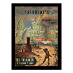 Astounding Science Fiction_ September 1946_Pulp Ar Poster