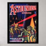 Astounding Stories 1931_Pulp Art Poster