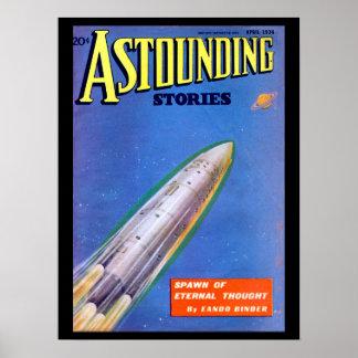 Astounding Stories - Apr 1936a_Pulp Art Poster