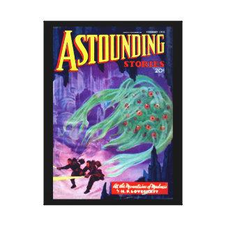 Astounding Stories - Feb 1936a_Pulp Art Canvas Print