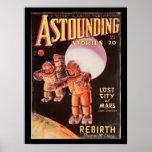 Astounding Stories _February 1934_Pulp Art Poster