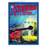 Astounding Stories Magazine Cover Feb 1930 Card