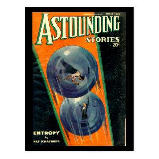 Astounding Stories - Mar 1936a_pulp Art Postcard