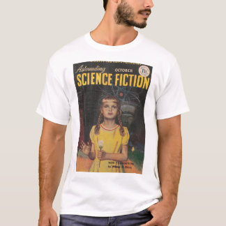 Astounding (UK) v07 n06 (1950-10)_Pulp Art T-Shirt