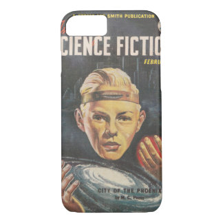 Astounding (UK) v08 n02 (1952-02)_Pulp Art iPhone 8/7 Case