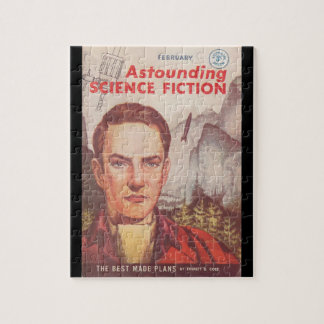Astounding (UK) v15 n12 (1960-02)_Pulp Art Jigsaw Puzzle