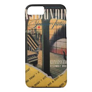 Astounding v033 n05 (1944-07.Street&Smith)_Pulp Ar iPhone 7 Case