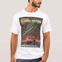Astounding v040 n05 (1948-01.Street&Smith)_Pulp Ar T-Shirt