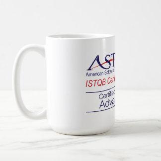 ASTQB certificó la taza avanzada probador del