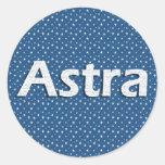 Astra Etiqueta Redonda