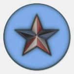 Astra Metallica Blue Stickers