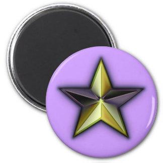 Astra Metallica Lavender Magnet