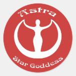 Astra Star Goddess Stickers