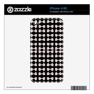 Astract Cell block Pattern Skin For The iPhone 4S