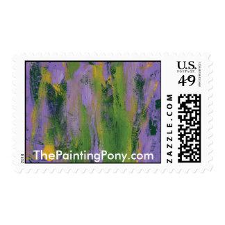 Astract que pinta la dicha 51 timbre postal