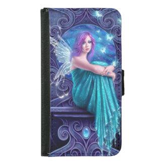 Astraea Fairy & Butterflies Galaxy S5 Wallet Case