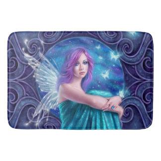 Astraea Fairy with Butterflies Bathroom Mat