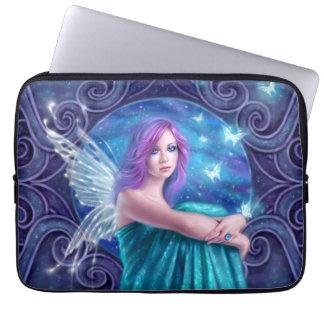 Astraea Fairy with Butterflies Laptop Sleeve