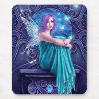 Astraea Fairy with Butterflies Mousepad
