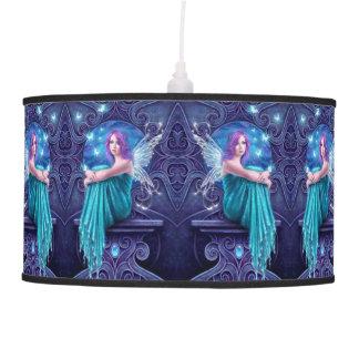 Astraea Fairy with Butterflies Pendant Lamp
