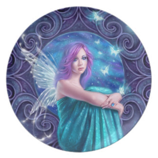 Astraea Fairy with Butterflies Plate