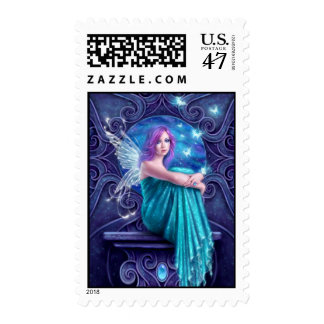 Astraea Fairy with Butterflies Postage