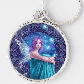 Astraea Fairy with Butterflies Premium Keychain