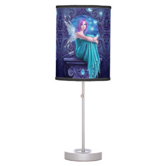 Astraea Fairy with Butterflies Table Lamp