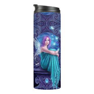 Astraea Fairy with Butterflies Thermal Tumbler