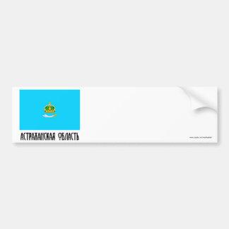 Astrakhan Oblast Flag Bumper Sticker