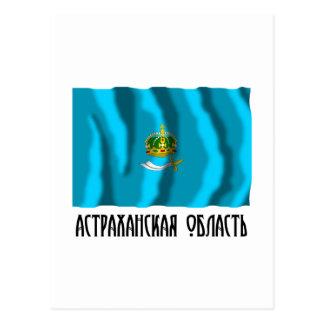 Astrakhan Oblast Flag Post Card