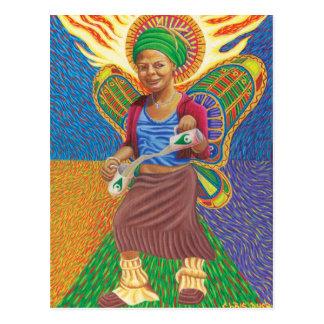 Astral Angel  Postcard