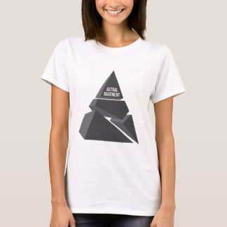 astral basement logo (black) T-Shirt