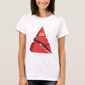 astral basement logo (red) T-Shirt
