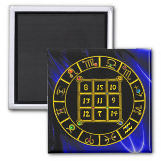 ASTRAL CODE / MAGIC SQUARE 33 2 INCH SQUARE MAGNET
