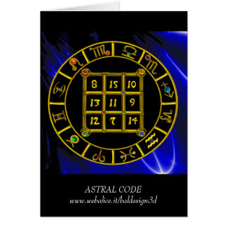 ASTRAL CODE / MAGIC SQUARE 33 CARD