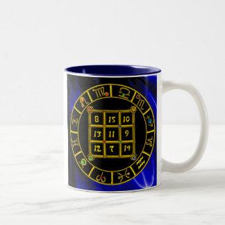 ASTRAL CODE / MAGIC SQUARE 33 Two-Tone COFFEE MUG